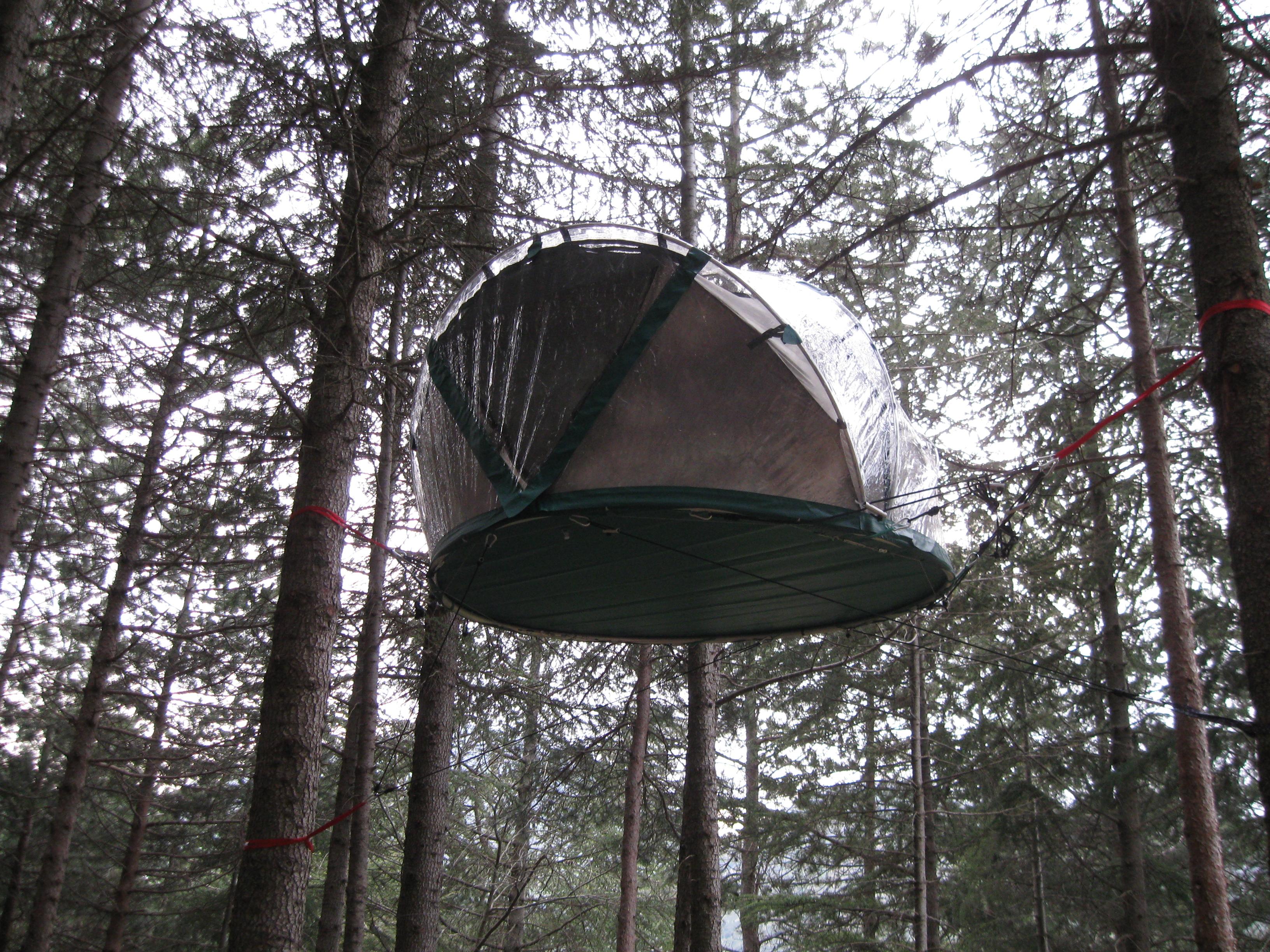 Tenda sospesa 6 metri
