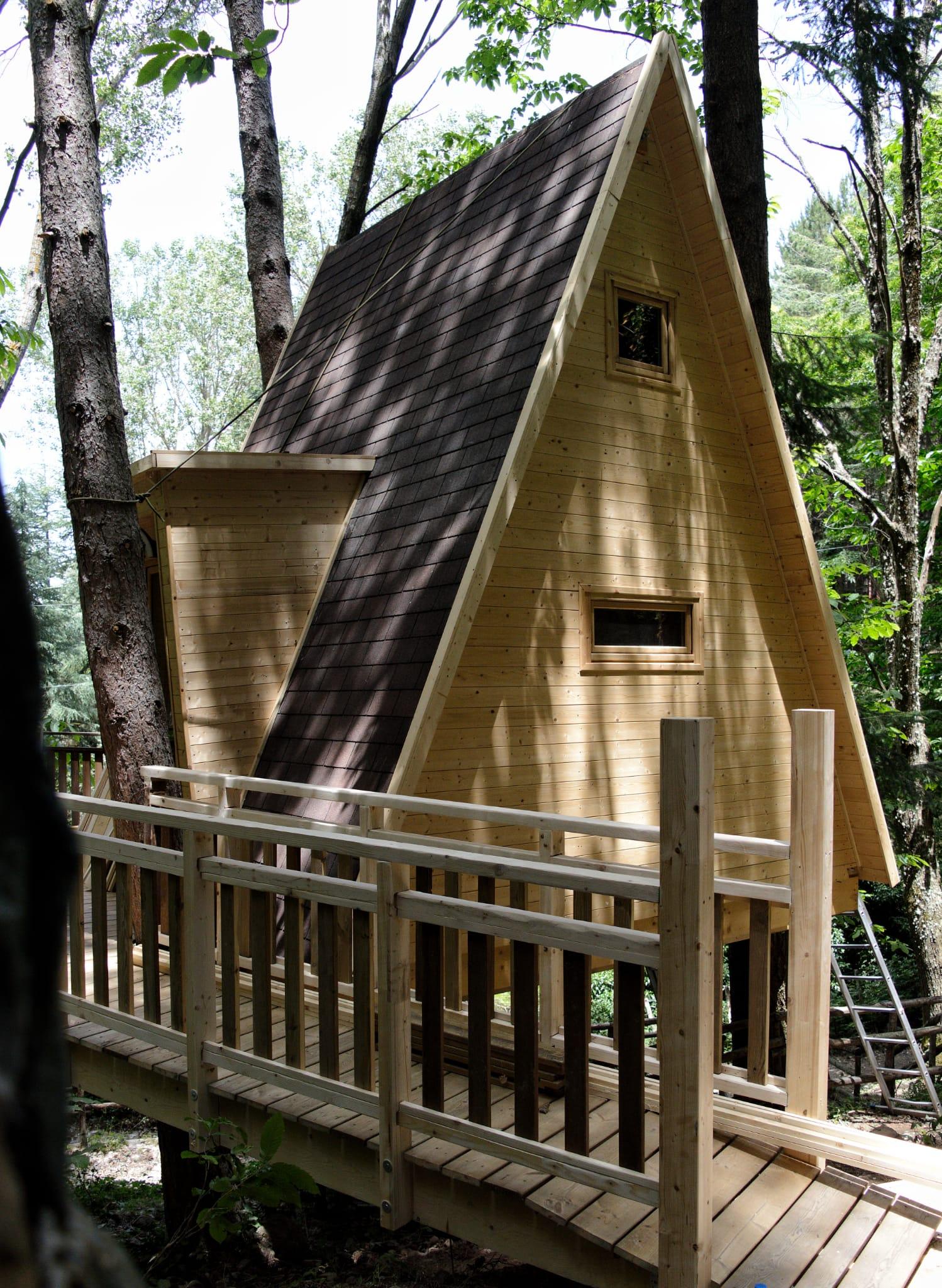 Casa sull'albero - La Terrazza sul Lago